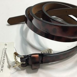 Banana Republic | Brown Synthetic Leather Belt